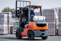 CNG Forklift Emirates Transport
