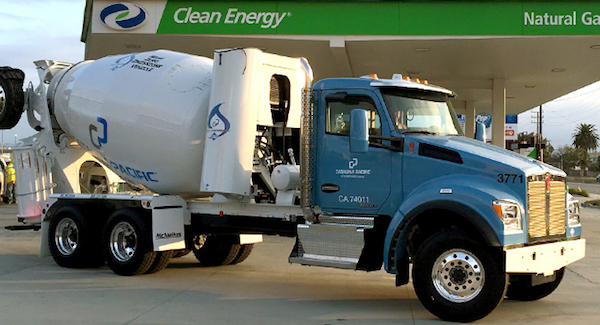 CalPortland Concrete Mixer Fleet moves to Redeem RNG