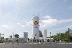 Shell LNG Station at Herstal