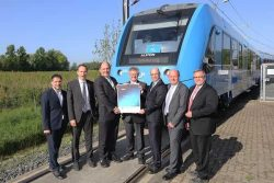 Alstom Coradia iLint H2 Train wins award