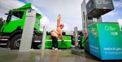 Ireland's First Private CNG Station at Clean Ireland Recycling