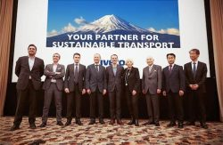 IVECO team launches NG vehicles at Truck Show in Yokohama