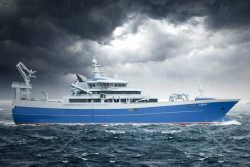Libas LNG fishing boat for Liegruppen AS