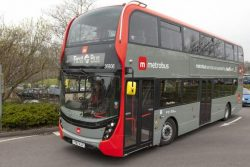Scania biogas double deckers for Bristol