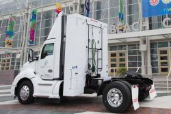 AJR Trucking receives Kenworth with CWI NZ 12 litre engine ACT Expo May2018