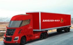 Anheuser-Busch plans H2-electric semi trucks