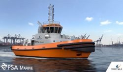 Wartsila engines for PSA Marine Tug