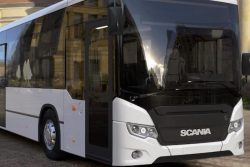 Scania Bus, natural gas  by Gasum