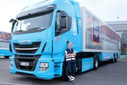ALDI SOUTH launches long-term test with natural gas trucks