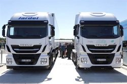 IVECO at biomethane plant launch Italy