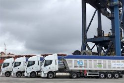 IVECO LNG lorries for Endesa