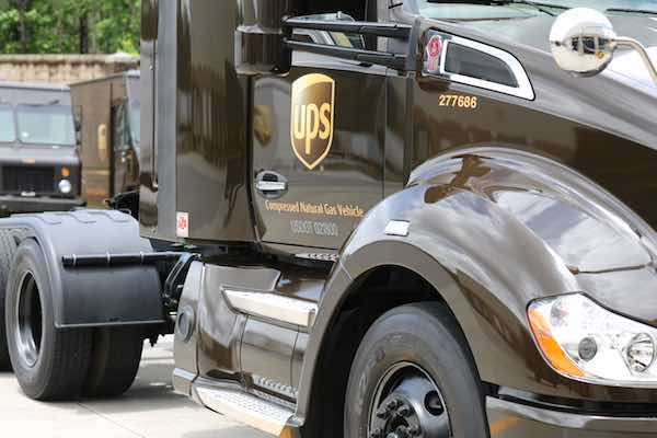 UPS Natural Gas Vehicle