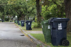 Toronto residential waste collection bins