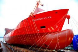 Containerships Strom launch