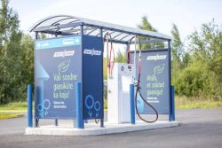 Estonia CNG Station of Eesti Gas