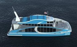 Golden Gate Zero Emission Marine - H2 Powered Illustration