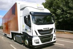 IVECO Stralis NP for ocado in UK