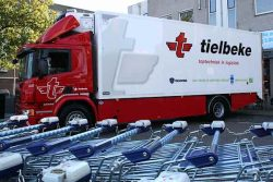 Albert Heijn supplier truck uses LNG