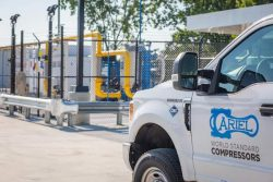Ariel at City-of-Columbus CNG West Station