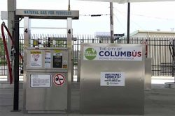 City of Columbus CNG Station Morse Road 2017