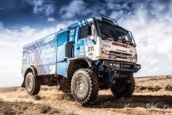 Gas-fueled KAMAZ