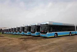 Yutong Fuel Cell buses for Zhangjiakou Winter Olympics (2)