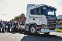 Scania G340 presented before ENARGAS