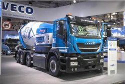 IVECO 400 hp Stralis X-WAY Natural Power with CIFA concrete unit