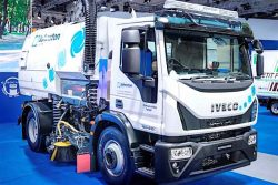 IVECO Eurocargo sweeper by Johnston Sweepers