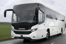 Scania Interlink Medium Decker LNG bus