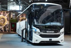 Scania Interlink MD LNG bus