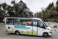 CNG buses for Santiago Chile
