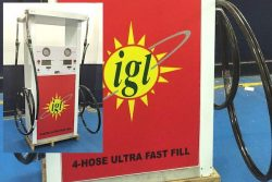 Compac 4-hose fast-fill CNG for IGL