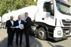 IVECO Stralis NP for Hoyer