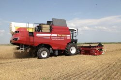 Gomsalmesh GS 4118 K natural gas powered harvester (2)