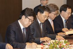 Korean H2 Bus cities sign agreement