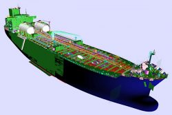 STX LNG-fuelled 50k dwt MR tanker design