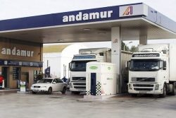 Andamur fuel station, Spain