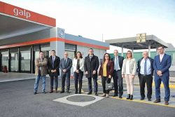 HAM-Galp-Port Barcelona inaugurate station