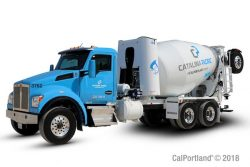 Catalina Pacific CNG Mixer Truck