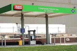 Giant Eagle CNG Station