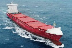 Containerships Nord on sea trials