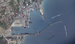 Port of Limassol, Cyprus (satellite image)
