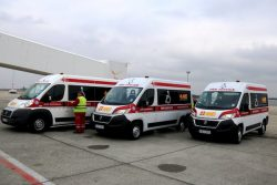 Fiat Ducato CNG ambulances for Budapest airport