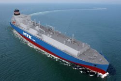 NYK dual-fuel LNG Carrier image