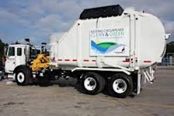 Chesapeake CNG Waste Vehicle