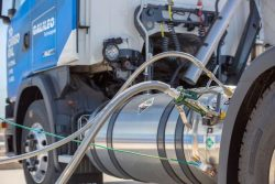 Galileo LNG dispenser to Scania Truck