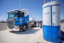 Galileo fueled first LNG fleet Scania