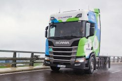 Vlantana trials Scania Truck