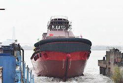 Ningo Port Dual-fuel 6500HP ASD tugboat